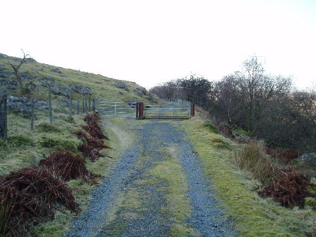 Dismantled  railway track