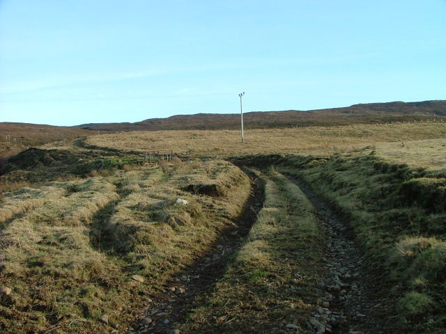 Track leading to Loch Mor
