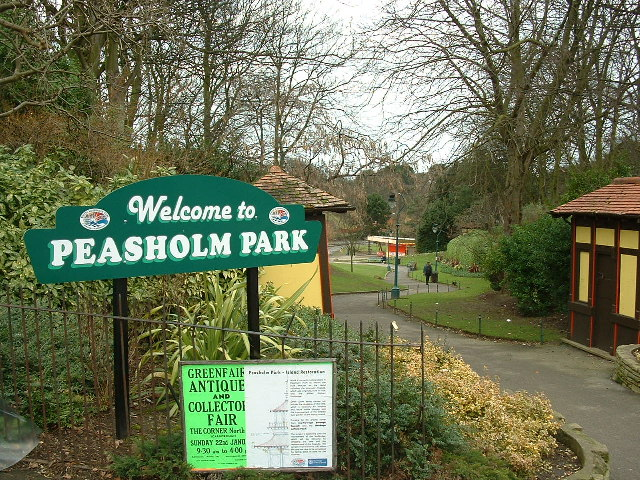 Southern entrance to Peasholm Park