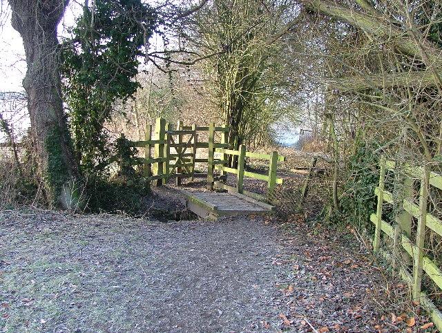 Footbridge at Radwell
