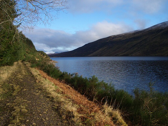 Old Track by Loch Ericht