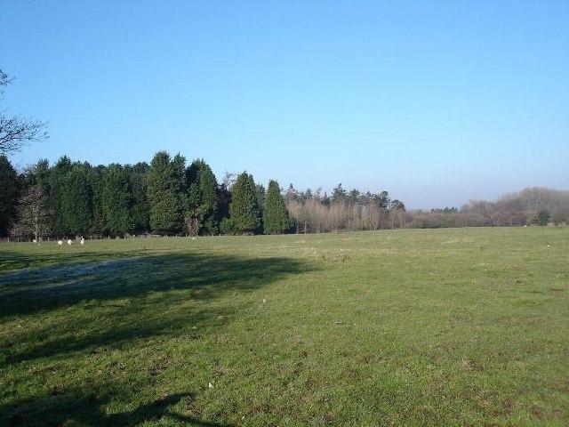Farmland near Brookhouse