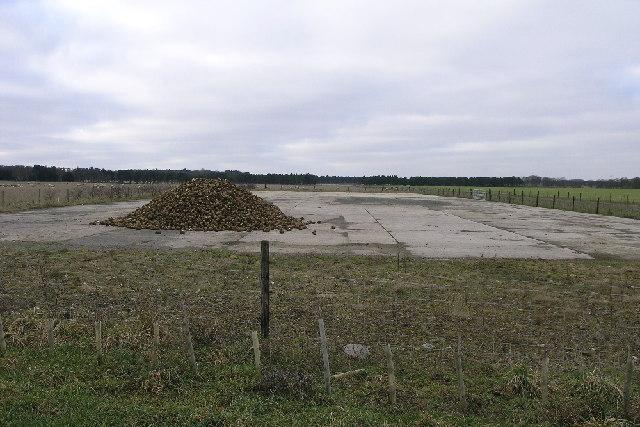 Scofton Aerodrome Runway