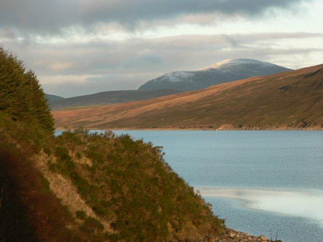 View from Loch Ericht