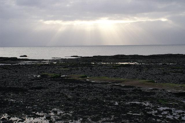 Rocky Beach at Victoria Park, Arbroath
