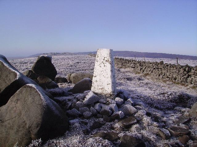 Trig Pillar Wolfhole Crag