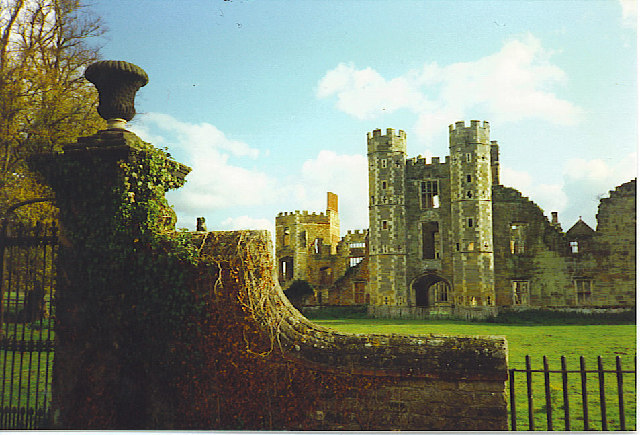 Cowdray Castle, the West Front.