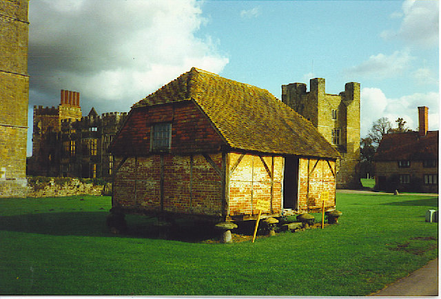 The old Storage Barn, Cowdray.