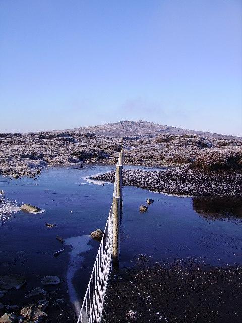 Frozen Peat