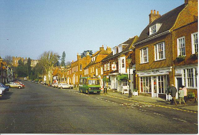 Castle Street, Farnham.
