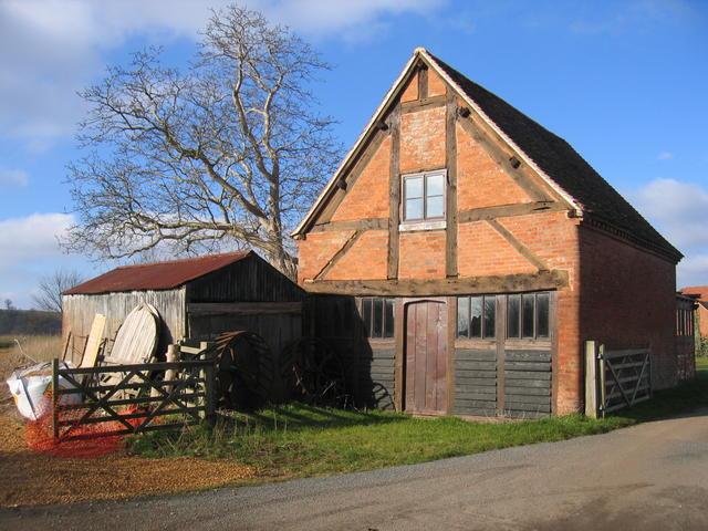 Barn at Manor House Farm, Waspeton.