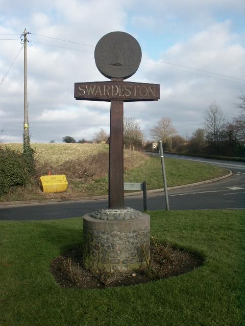 Swardeston village sign