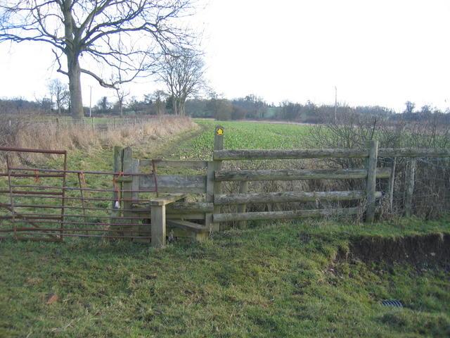 Footpath to Woozeley Bridge