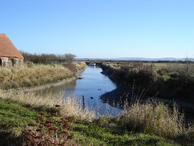Tidal inlet near Lower Pennington