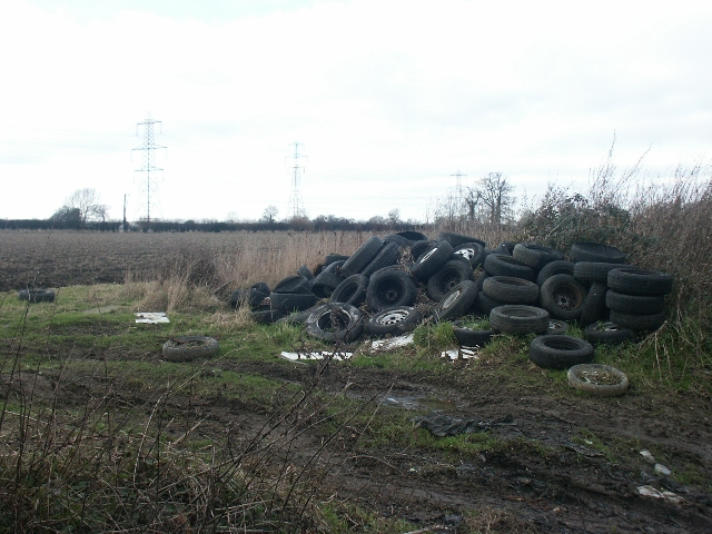 Fly tipping, Mangreen