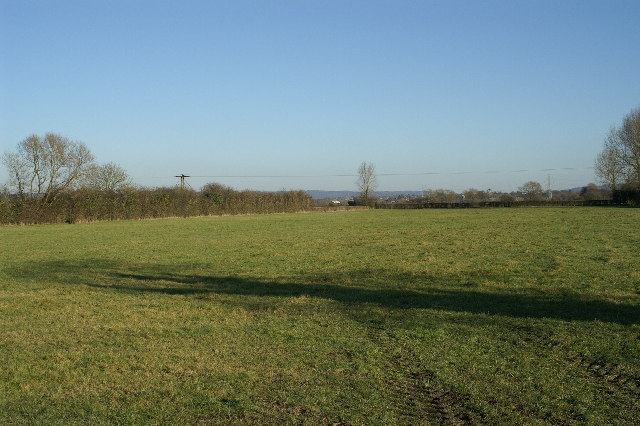Fields on Kenn Moor