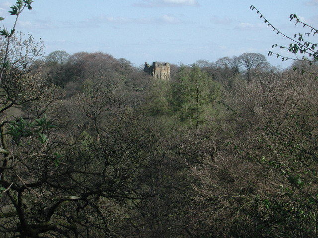 Mowbray Castle from Mowbray Point