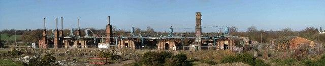 Defunct Brickworks Panorama