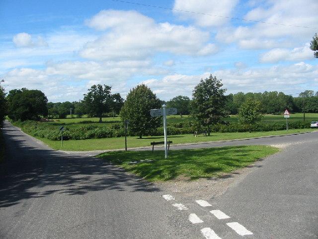 Junction of Grimstead Road and Crockford Road, West Grimstead