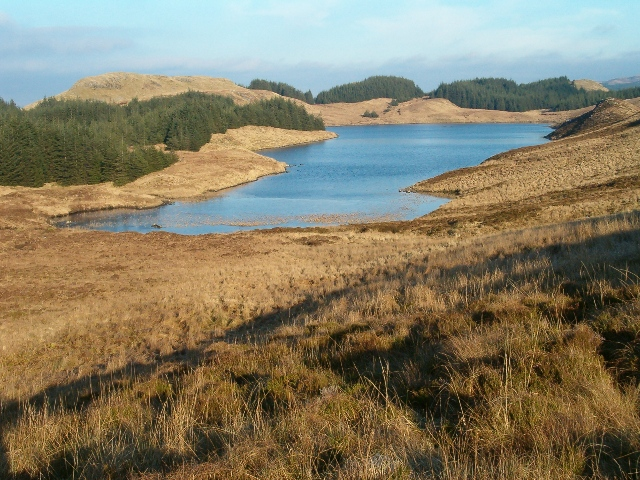 Loch Leachd from the south