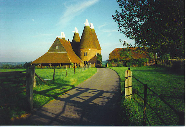 Converted Oast Houses by Chiddingstone