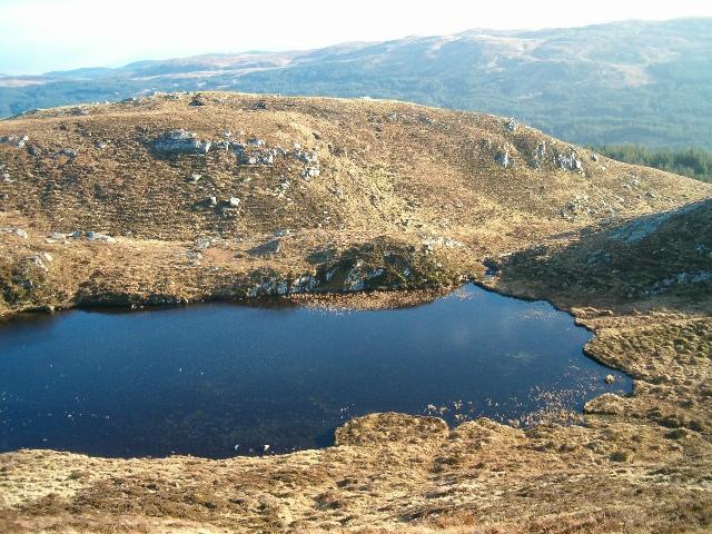 Lochan below Beinn Dubh Airigh