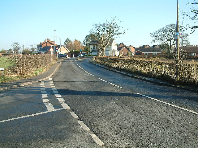 Looking up Formby Lane