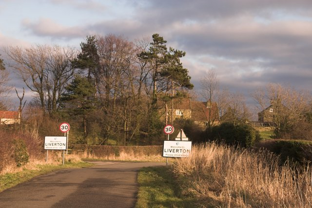 Approaching Liverton
