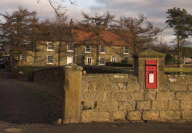 Post box - Liverton