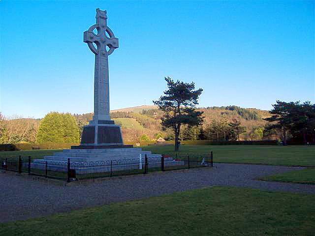 War memorial at St. Johns Isle of Man