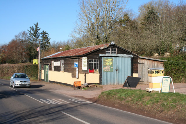 Rewe: farm shop at Folly End Farm