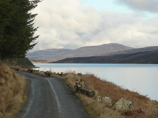 Track beside Loch Ericht