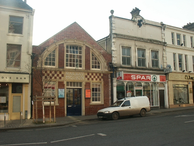 Railway Mission, Prince of Wales Road, Norwich