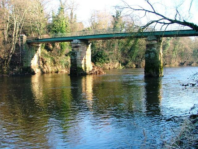 Bridge Over the River Tees, Low Dinsdale