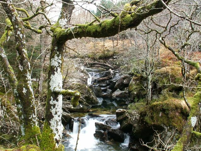 Waterfall Glen Dubh Lighe