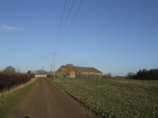 Grain store - Warren Barns, Little Milton