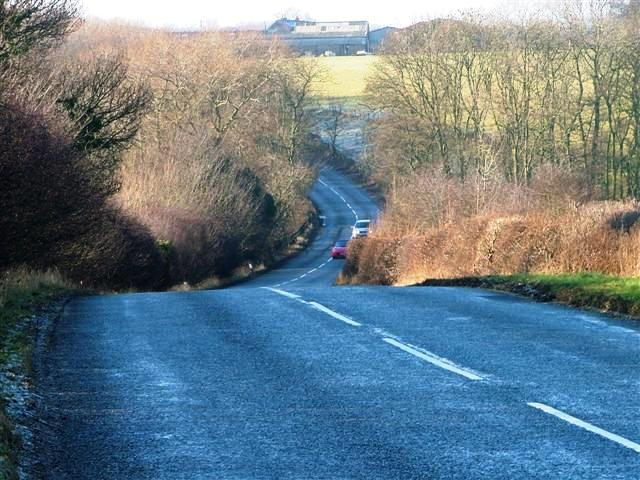 B1264 at Staindale Bridge