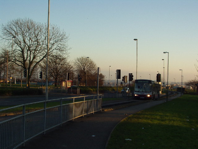 Guided Busway, Scott Hall Road, Leeds