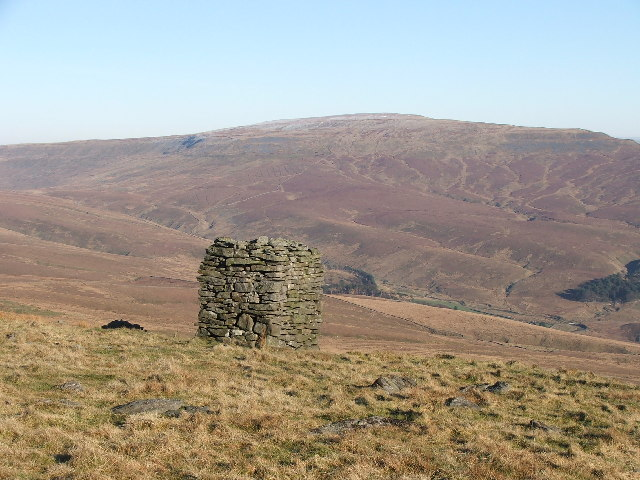 Cairn above Braidamaya.