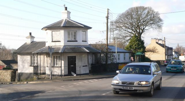The Old Toll House & W. I. Hall, Llanfair P.G.