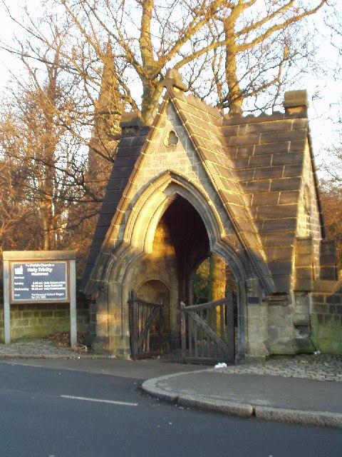 Lych Gate, Holy Trinity Church, Meanwood, Leeds