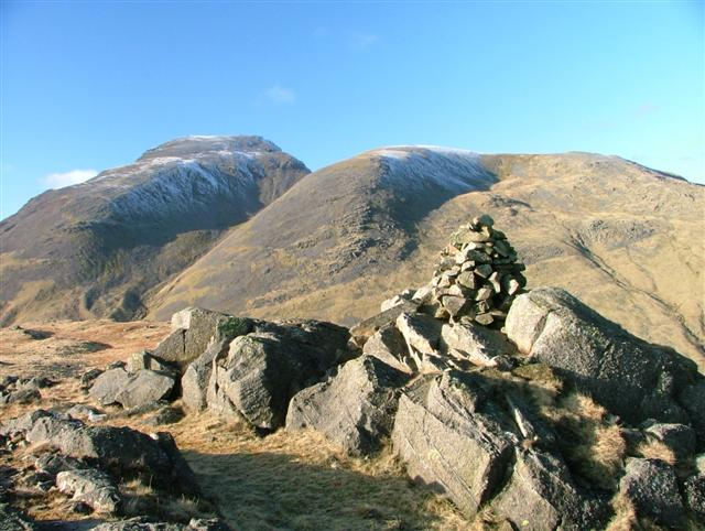 Seathwaite Fell, Cairn at 601m Top