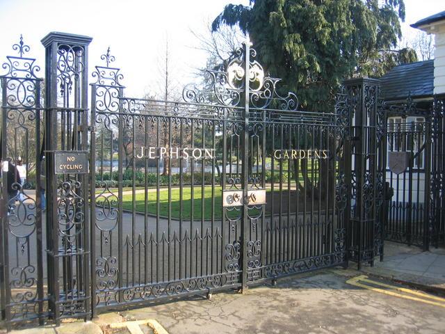 The Gates to the Jephson Gardens