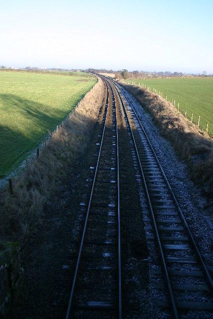 Rail Line to Wigton