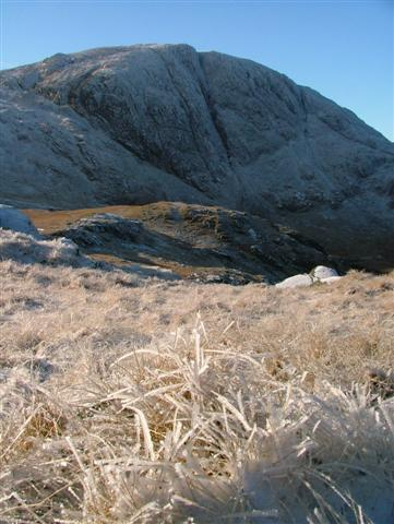 Contouring Around Allen Crags