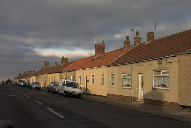 Terraced houses - Liverton Mines