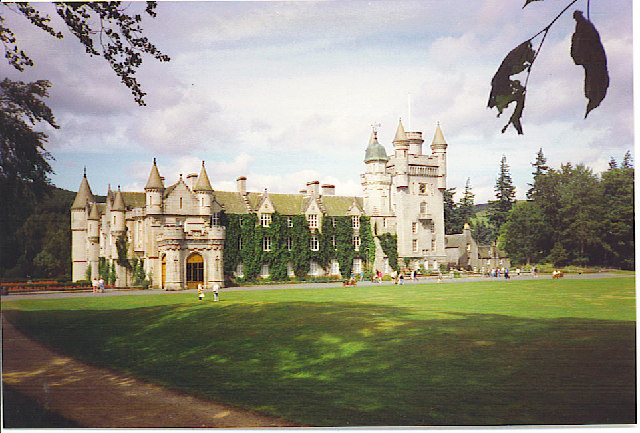 Balmoral Castle from the South-west.