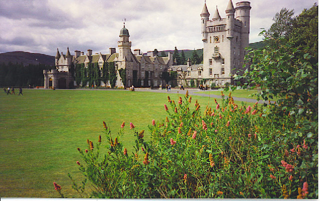 Balmoral Castle from the South-east.