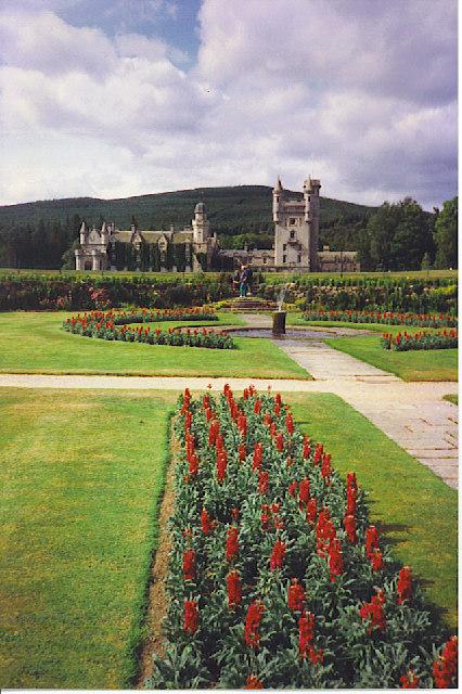 The Sunken Garden, Balmoral Castle.