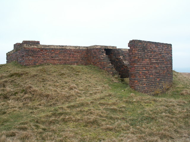 Starfish bombing decoy control bunker, Slate Delf Hill